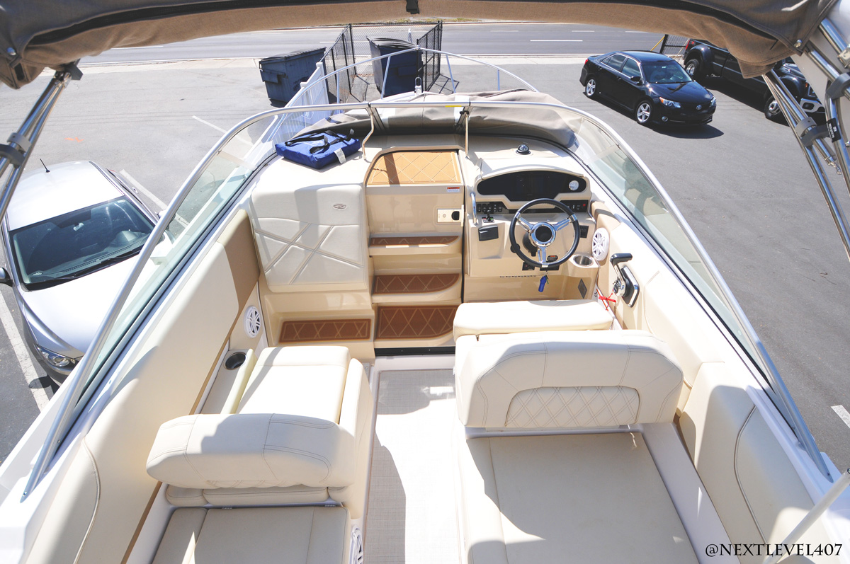 Regal-26-Express-Audio-Full-Exterior-Lounge-With-Cockpit-JL-Audio-Wall-Speakers-Top-View